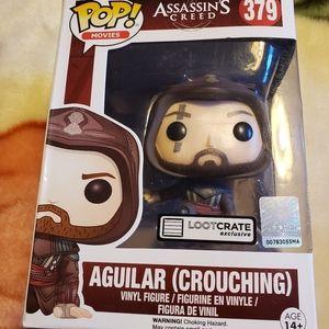 Funko Pop Assassins creed Aguilar ( Crouching) #37